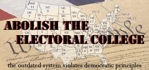 a discussion of the many shortcomings of the electoral college Start studying nsl learn • what are the advantages and disadvantages of the electoral college many consider the electoral college's negative effect on.
